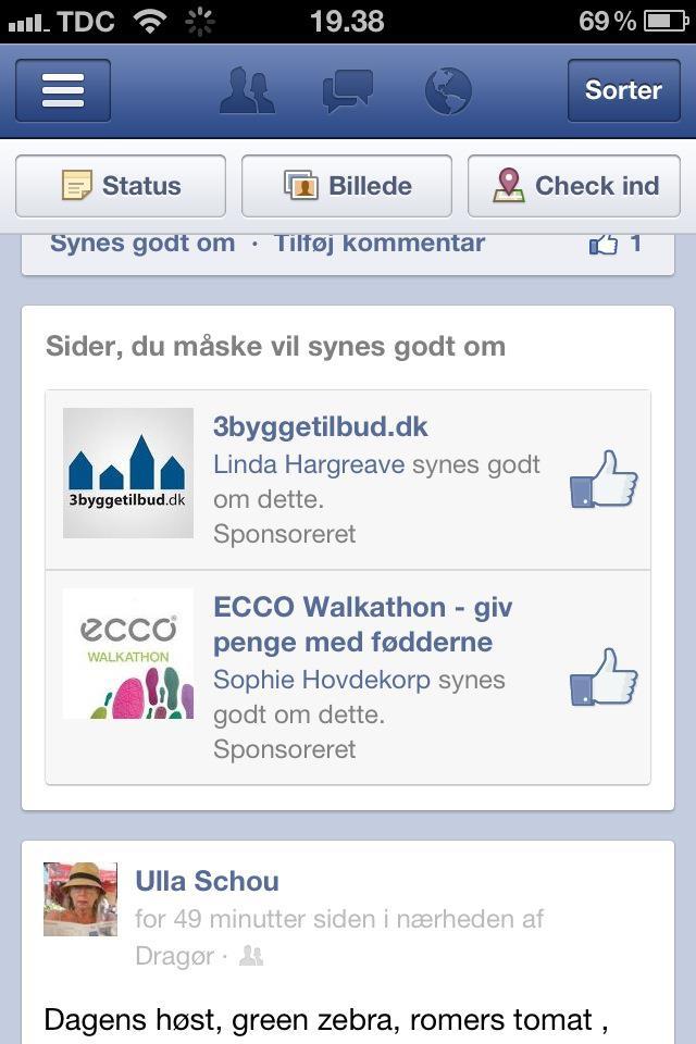 Facebook annonce med mulig backfire