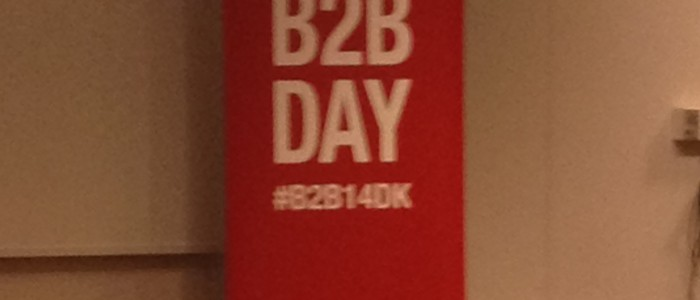 Take aways fra B2B marketing day i Kolding