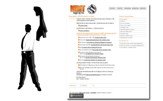 Projekt : WPDK WordPress Blog Design
