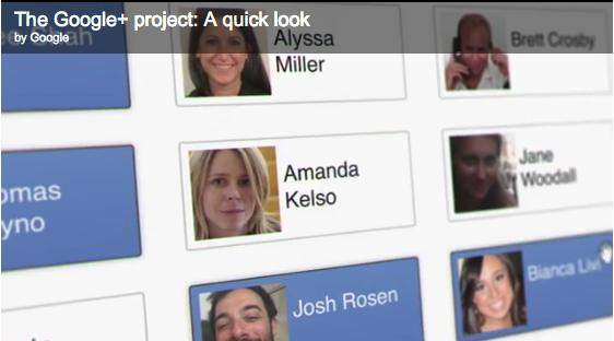Google+ introduceres
